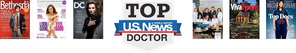 top plastic surgeon Washington DC media coverage